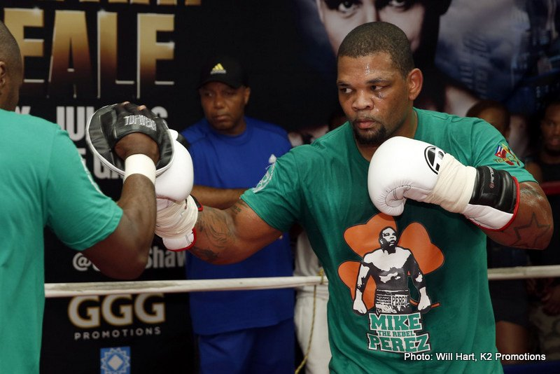 Heavyweight Mike Perez set for ring return