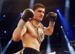 Dmytro Kucher, Marco Huck - Anyone who has followed the course of Marco Huck's dozen year, fourty-four bout boxing career is likely to say a couple of things about him as a fighter.