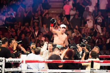 Juan Manuel Marquez Marquez vs. Alvarado Mike Alvarado Boxing News Boxing Results