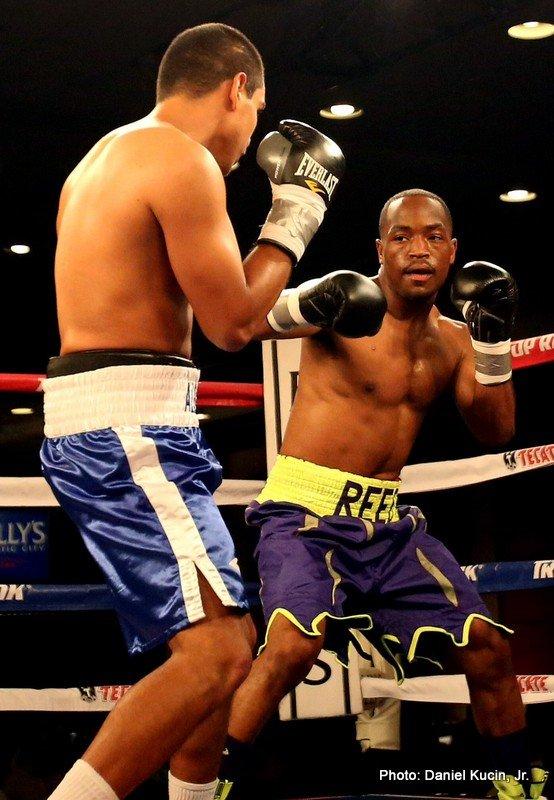 1-Mike Reed vs Alberto Morales on 61414 - photo by Daniel Kucin, Jr.