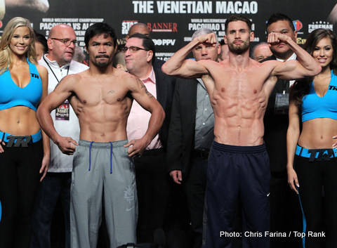 Chris Algieri Manny Pacquiao Pacquiao vs. Algieri Boxing News Top Stories Boxing