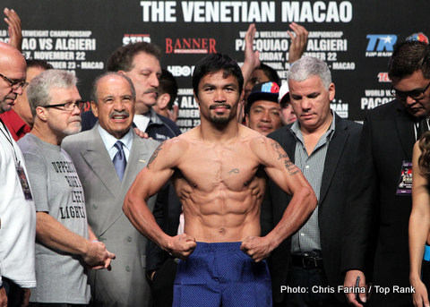 HBO Sports to Replay Three of Manny Pacquiao's Classics Bouts