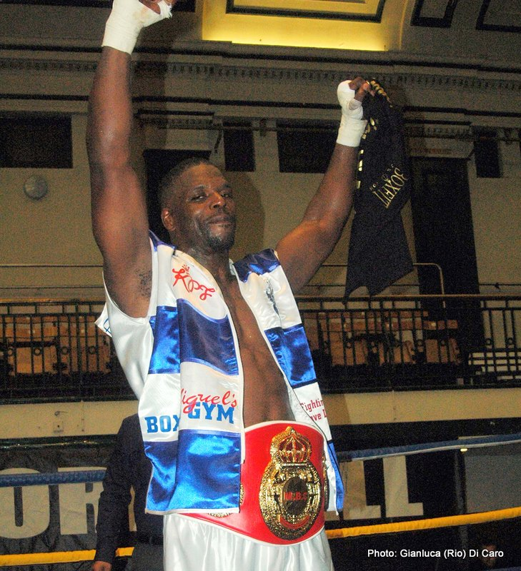 Mark Prince - After a fourteen year sabbatical Mark Prince returned to the championship fray on Saturday night, in doing so adds the MBC International title to the WBO and IBF Inter-Continental title honours he won in the 1990s