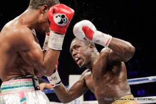 """Mayweather vs. Berto - With his purported upcoming fight against an undefeated ring legend who made more money per minute (6 million plus) in his last fight than most aspiring pugilists could ever hope to make for their entire career, 31 year old Andre Berto (30-3 23 KO) comes into his bout with 38 year old all time great Floyd """"Money"""" Mayweather (48-0 26 KO) as perhaps the greatest underdog in the history of the sport."""