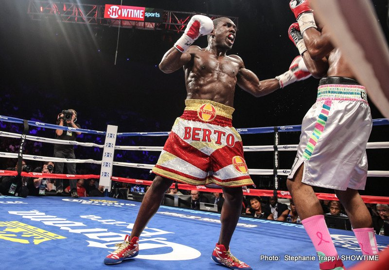 TMZ: Mayweather vs Berto Official