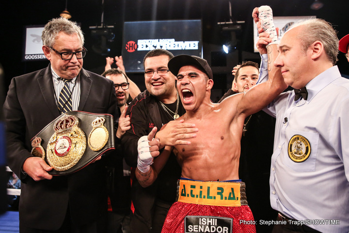 Cuellar Whips Tamayo To Retain Title On SHOWTIME BOXING