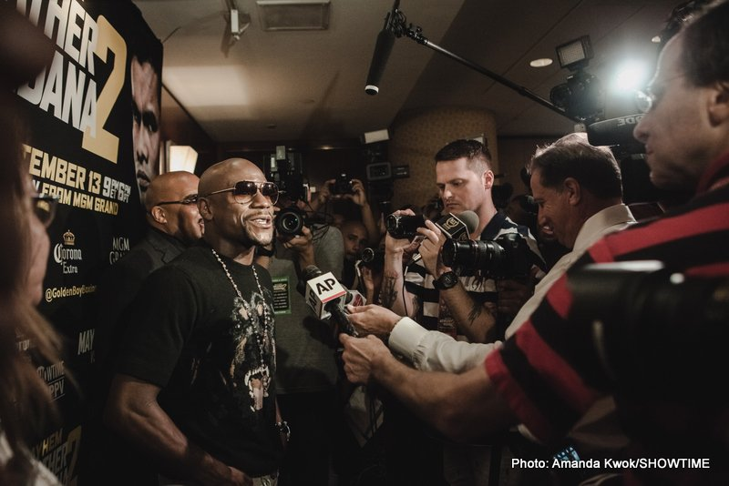 "Floyd Mayweather Jr - As fight fans may or may not have read, Richard Schaefer is back with a new promotional outfit, the former Golden Boy CEO set to launch Ringstar Promotions soon. And Schaefer, in speaking with Fighthub and Secondsout, said that the world of boxing ""needs Floyd Mayweather back."""