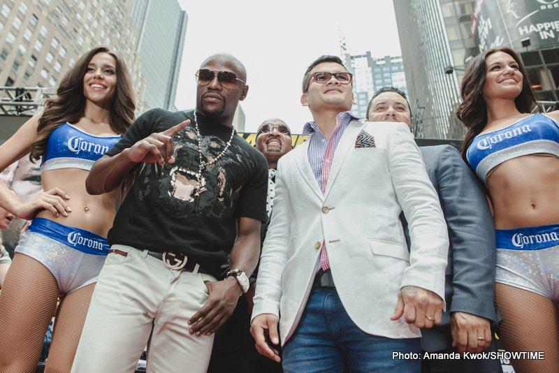 Mayweather v Maidana NYC Press Conference Quotes