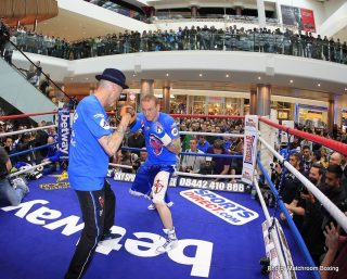 Carl Froch, Froch vs. Groves 2, George Groves - Official Weights from London: