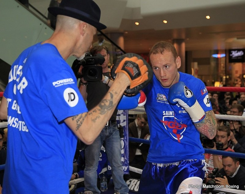George Groves Lands Mayweather Undercard Date for Challenge to Badou Jack
