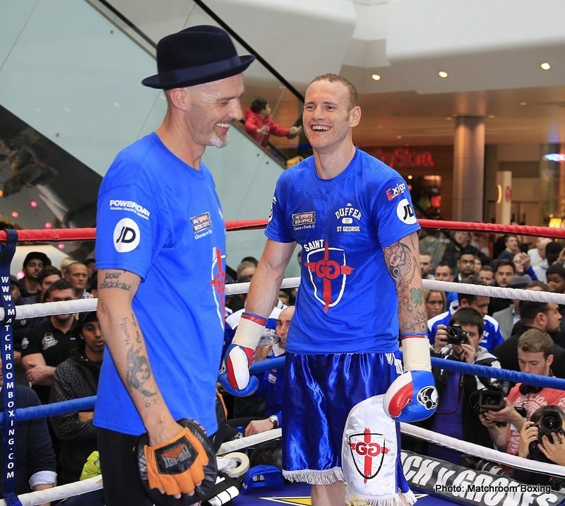 George Groves & Trainer Paddy Fitzpatrick Part Company After Badou Jack Defeat