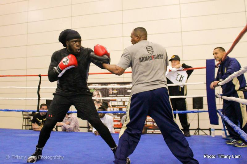 "Bermane Stiverne already in training camp for Joshua shot: ""I have a desire to be a two-time heavyweight champion"""