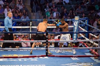 """Guerrero vs. Kamegai, Robert """"The Ghost"""" Guerrero, Yoshihiro Kamegai - The StubHub Center in Carson, California has become one of the favorite venues for west coast fight fans.  Tonight thousands came out for another stacked card from Golden Boy Promotions, with the three signature bouts featured on a Showtime Championship Boxing triple header.  Let's get into the fights."""