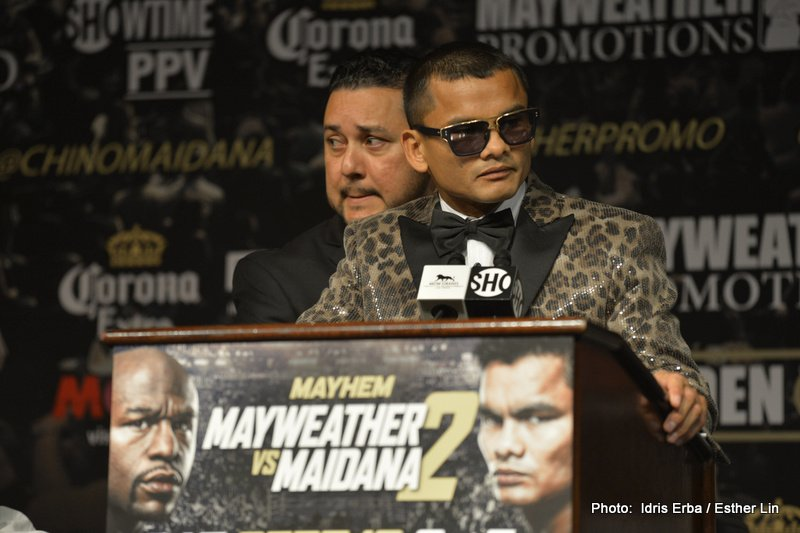 Floyd Mayweather Jr, Marcos Maidana, Mayweather vs. Maidana 2 - Marcos Maidana has called on pound-for-pound king Floyd Mayweather to 'fight him like a man'.