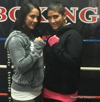 Amanda Serrano Cindy Serrano Boxing Interviews