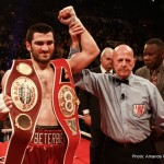 Artur Beterbiev, Frankie Gomez, Julian Williams, Lee Selby, Lucas Browne - As we see out the year of 2014, boxing fans will look back and be nothing more than truly excited about the year to come.