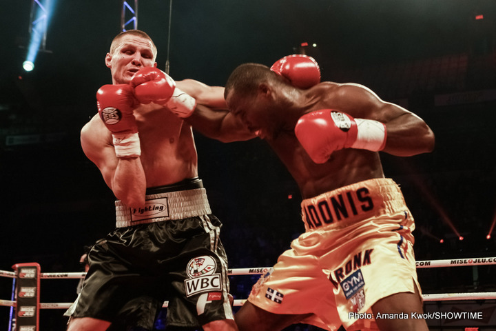 Adonis Stevenson KOs Dmitry Sukhotskiy In WBC Light Heavyweight Title Defense
