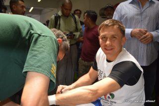 Gennady Golovkin Golovkin vs. Geale Press Room