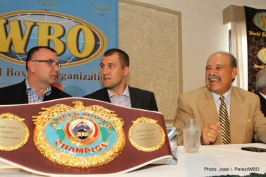 - Early today, in a ceremony held at El Zipperle restaurant in San Juan, Puerto Rico, the World Boxing Organization (WBO) and President Francisco 'Paco' Valcárcel honored Russian champion, Sergey Kovalev, awarding him the WBO's Light Heavyweight Super Championship.