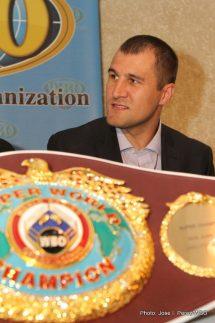 Serger Kovalev Press Room
