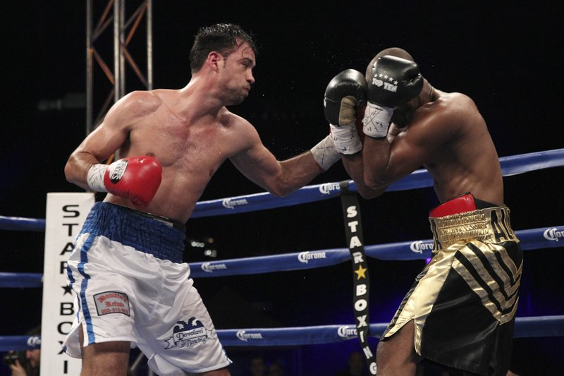 Joachim Alcine - Star Boxing presented another exciting night of boxing broadcast live this past Friday on ESPN2.  At the historic Olympic Stadium in Montreal, Canada, battle tested veterans Delvin Rodriguez (28-7-4  16KO's) and Joachim Alcine (35-7-2  21KO's) fought 10 hard rounds to a draw in a Jr. Middleweight contest.