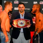 Kovalev vs Agnew, Dulorme vs Mayfield Weigh In Videos, Weights & Photos
