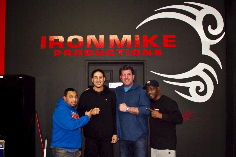 Iron Mike Productions teams with famed Gleason's Gym