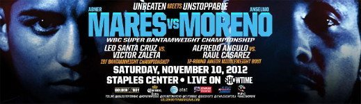 Mares vs. Moreno - By Joseph Herron: On October 20th, in Brooklyn, New York, the world of boxing more than likely witnessed the final chapter in the career of a Mexican boxing legend.