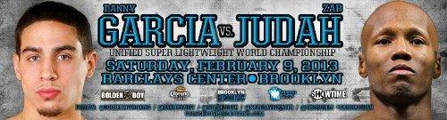Danny Garcia Garcia vs Judah Zab Judah Boxing News
