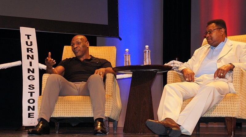 Kings of the Ring: A Conversation with Mike Tyson and Larry Holmes at Turning Stone
