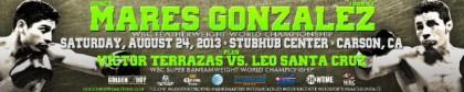 Abner Mares Jhonny Gonzalez Leo Santa Cruz Mares vs. Gonzalez Santa Cruz vs. Terrazas Victor Terrazas Boxing News