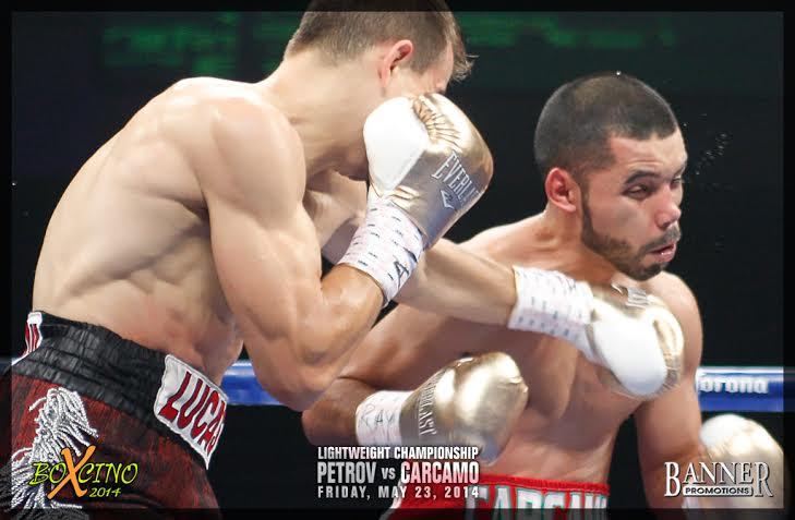 Willie Monroe Jr. - PHILADELPHIA (MAY 27, 2014)--Petr Petrov and Willie Monroe Jr. won the Boxcino 2014 lightweight and middleweight tournaments respectively as Petrov stopped Fernando Carcamo in round 8, while Monroe pounded a 10-round unanimous decision over Brandon Adams at the Turning Stone Resort Casino.