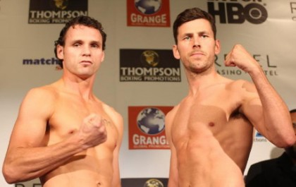 Barker vs. Geale Daniel Geale Darren Barker Boxing News Top Stories Boxing
