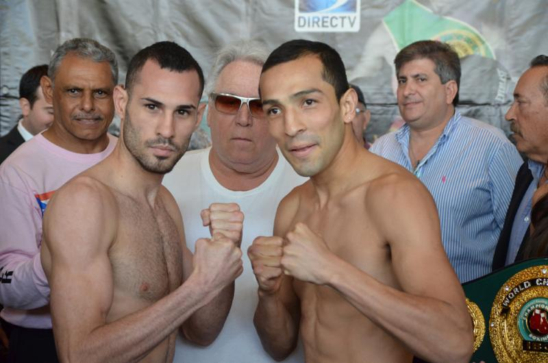 Weights from Ponce, Puerto Rico: Pedraza 129 vs.  Garza 130