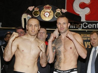 (Photo credit: Sauerland Events) By Michael Collins: Mikkel Kessler (45-2, 34 KO's) and Brian Magee (36-4-1, 25 KO's) weighed in earlier today for their fight on Saturday with Kessler coming in at 167.8 pounds and Magee at 168 for their bout at the BOXEN, Herning, Denmark. Kessler, 33, is a huge favorite in this fight, as he has the bigger power, better hand speed, bigger size and the much bigger talent than Magee. Kessler also four years younger than the 37-year-old Magee, and that's something that will help as well.