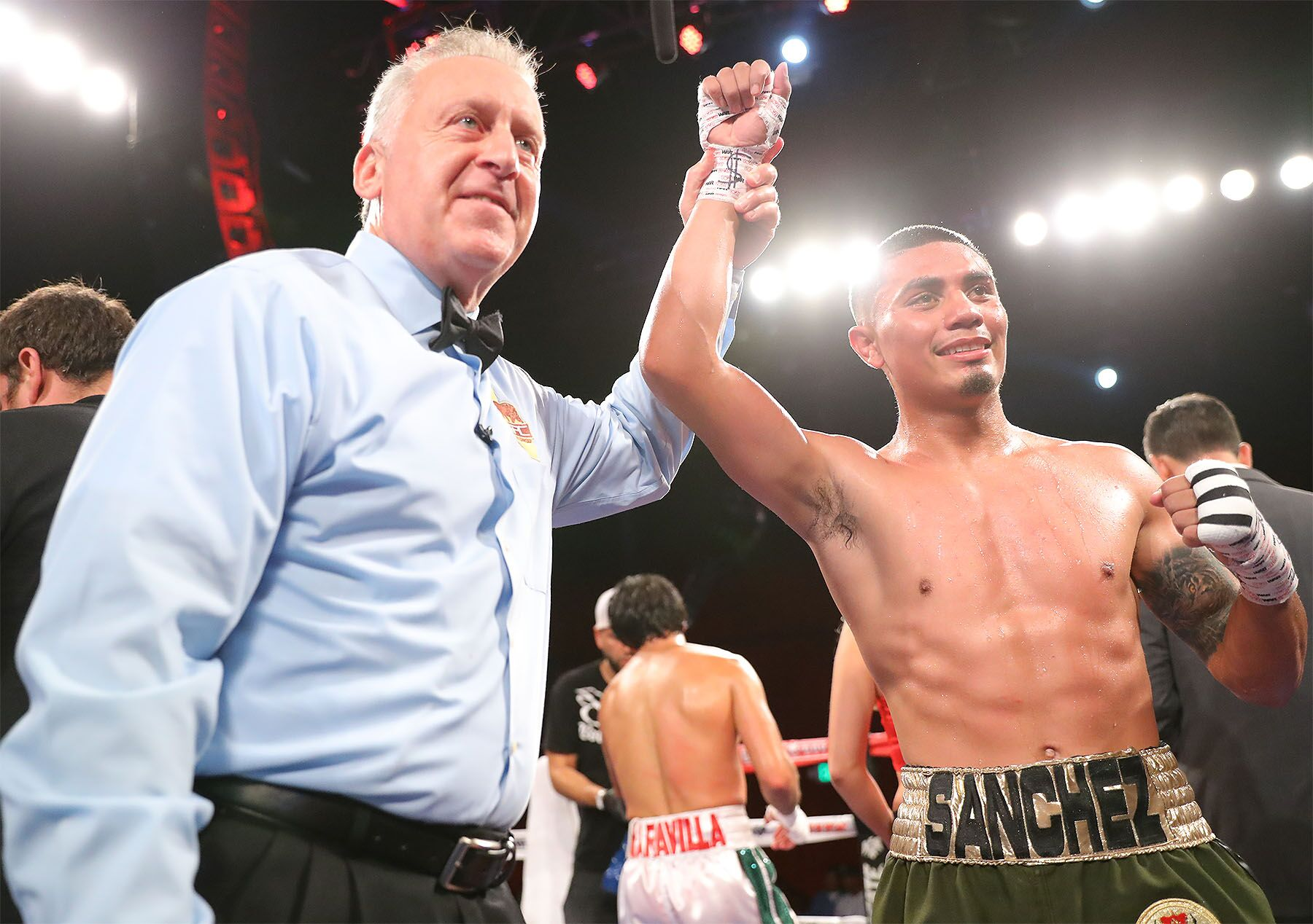 Christopher Martin Emilio Sanchez Boxing News Boxing Results