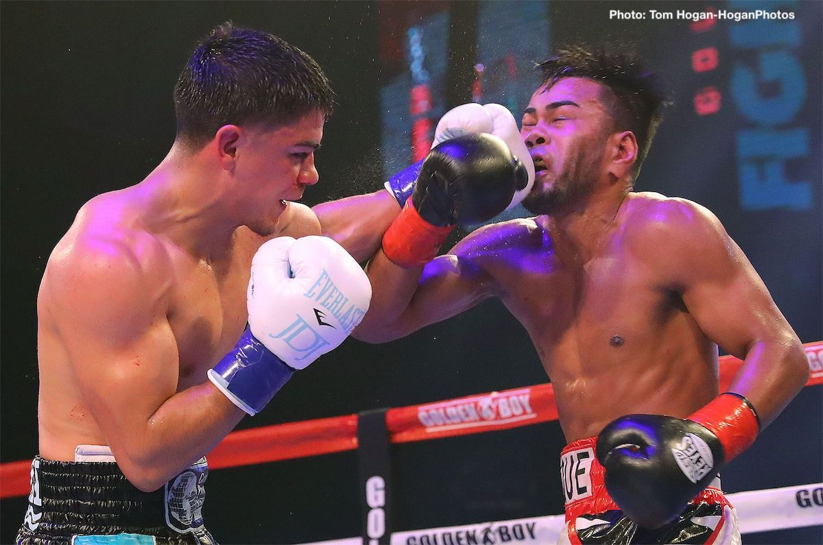 "Jesus Rojas Joseph ""Jojo"" Diaz Jr. Boxing News Boxing Results"