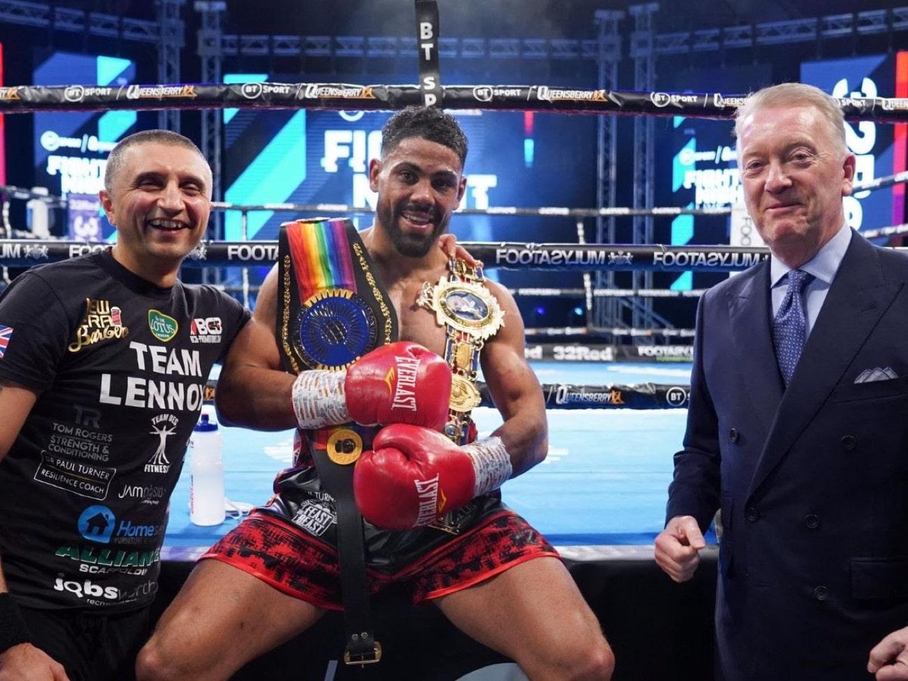 Lennox Clarke - British Boxing