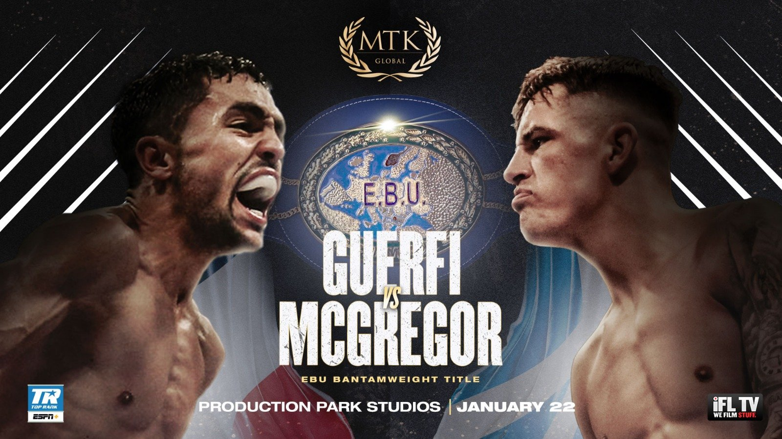 Karim Guerfi, Lee McGregor - British Boxing