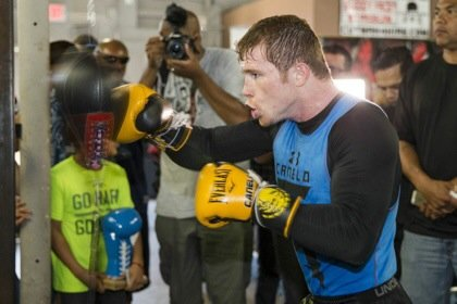 Canelo Alvarez Media Workout Quotes