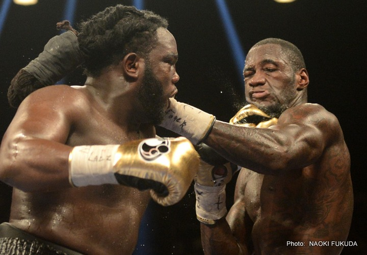 Bermane Stiverne OK After Being Hospitalized Saturday Night