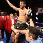 """Tony Luis - The much-anticipated main event featured Philadelphian Karl """"Dynamite"""" Dargan (17-1, 9 KOs)* against Tony """"The Lightning"""" Luis (28-5, 18 KOs) for the WBC Continental Americas Lightweight Championship."""