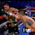 Mike Alvarado - Brandon Rios (33-2-1, 24 KOs) came into last night's fight against Mike Alvarado (34-4, 23 KOs) with his career essentially on the brink of collapse after losses to Manny Pacquiao, Alvarado and question wins over Richard Abril and Diego Chaves. But with his 3rd round stoppage win over a near-frozen Alvarado, Rios' career has been rejuvenated, at least temporarily.