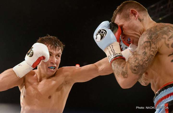 Photo Gallery:  Golovkin TKOs Murray