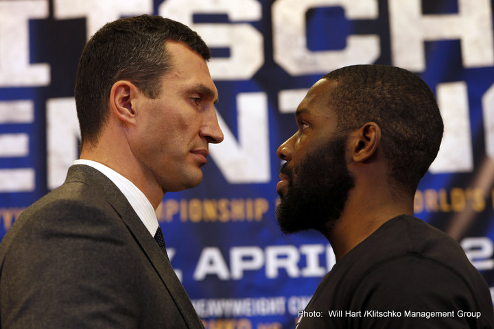 Bryant Jennings, Klitschko vs. Jennings, Wladimir Klitschko - Out of curiosity I'm beginning to wonder if there are any boxing fans alive who believe unbeaten American Bryant Jennings (19-0, 10ko) has any more than a snowball's chance in Hell when he squares off against dominant long time heavyweight champion Wladimir Klitschko (63-3, 53ko) on April 25th at New York's Madison Square Garden?