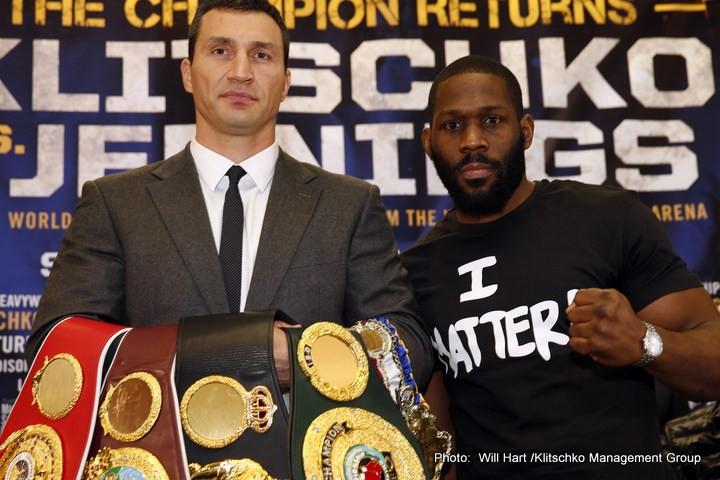Bryant Jennings Klitschko vs. Jennings Wladimir Klitschko Boxing Interviews Top Stories Boxing