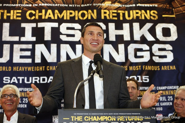 "Wladimir Klitschko Holds a Dubious ""Record"" – But at Least He's in Good Company"