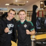 Carl Frampton, Scott Quigg - Sky Sports Box Office will show the eagerly anticipated super-bantamweight unification World Title fight between two of Britain's undefeated champions, Carl Frampton and Scott Quigg.