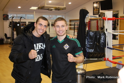 "Frampton-Quigg showdown just days away, promoter Hearn says Quigg will win ""a brutal fight"""