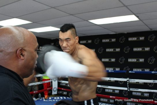Manuel Roman Taishan Dong Boxing News